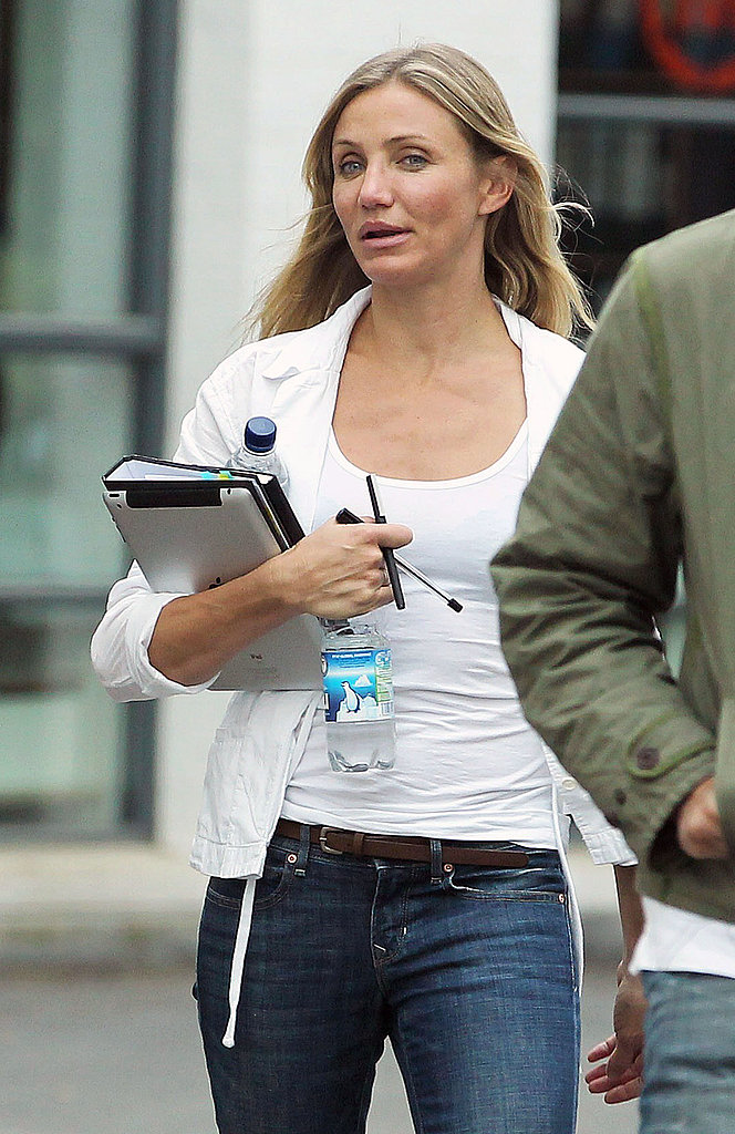 Cameron Diaz Preps to Film Opposite Her Oscar-Winning Leading Man
