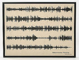Geek Art: Turn Sound Waves Into Gallery-Style Pieces