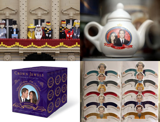 Weird Royal Wedding Merchandise and Souvenirs Inspired by Prince William and Kate Middleton