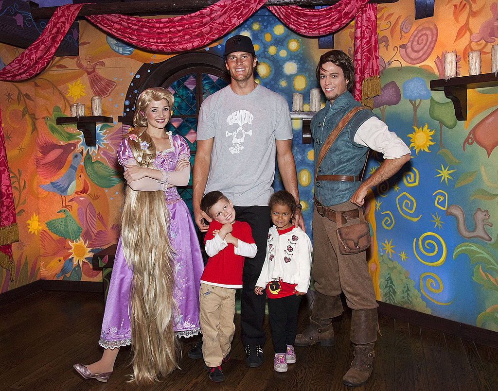 Tom Brady Takes Jack to the Happiest Place on Earth For Birthday Fun