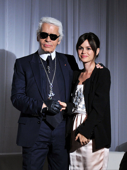 Rachel Bilson Joins Karl Lagerfeld and Anna Wintour to Debut Her Sweet New TV Spots