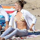 LeAnn Rimes Brings Her Bikini to the Beach For Fun With Her Fiancé