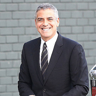 George Clooney Pictures at a President Obama Fundraiser