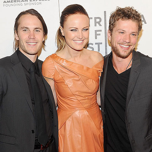 Ryan Phillippe Pictures With Malin Akerman and Taylor Kitsch at the Tribeca Film Festival Premiere of The Bang Bang Club