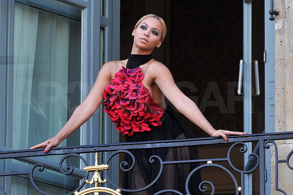 Beautiful Beyoncé Has Love For Fans and Gorgeous Gowns in Paris