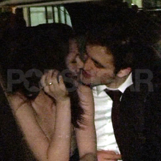 Robert Pattinson Goes In For a Kiss