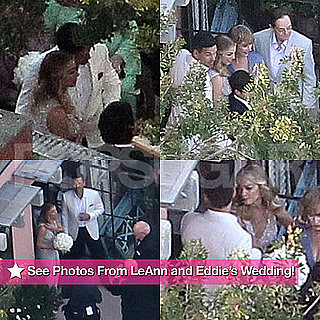 LeAnn Rimes and Eddie Cibrian Wedding Photos