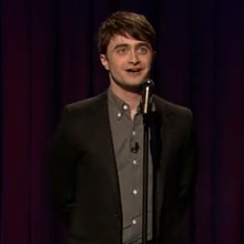 Daniel Radcliffe Stand-Up Comedy on Jimmy Fallon 2011-04-26 10:27:01