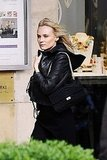 Diane Kruger Puts Her Best Modeling Face Forward in Paris