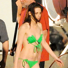 Kristen Stewart Bikini Pictures With Shirtless Robert Pattinson