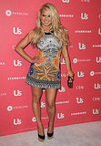 An Etro-clad Jessica Simpson was the guest of honor at Us Weekly's annual Hot Hollywood party in 2011.