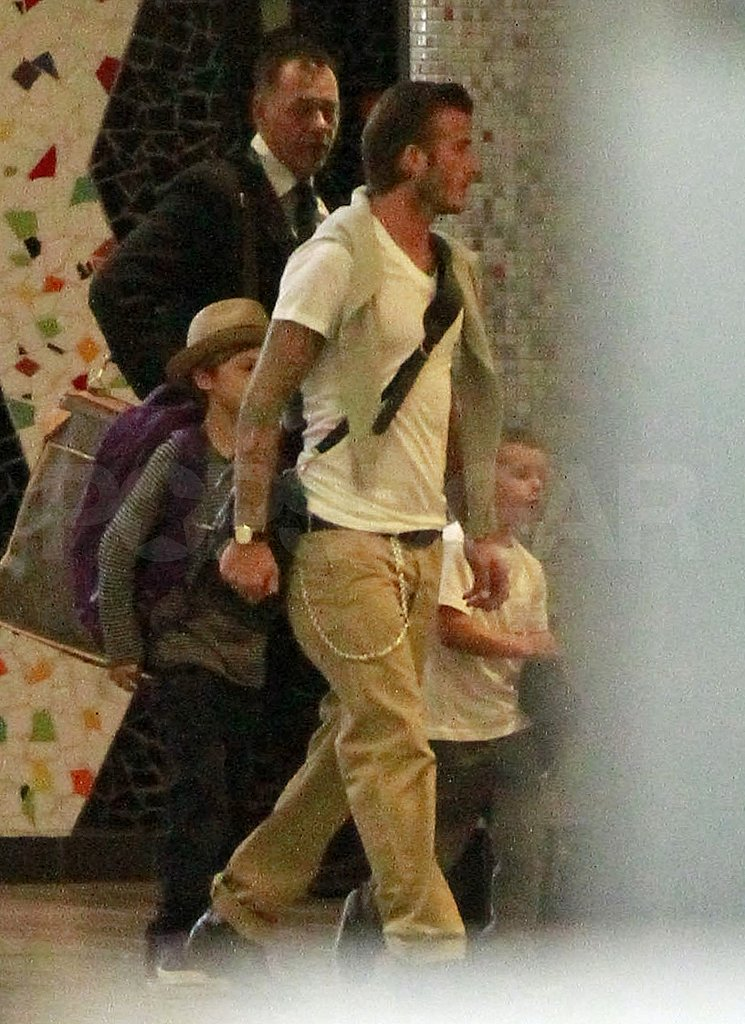 The Beckhams Head to the Royal Wedding!