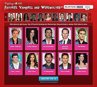 Favorite Celebrity Vampire List