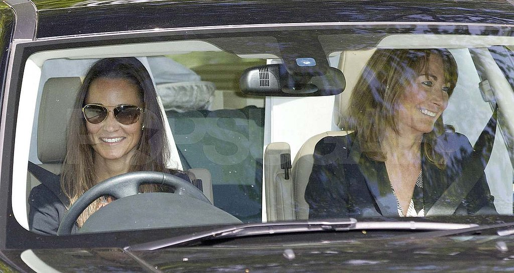 Pippa and Carole Middleton Prep For the Wedding While the Queen Wraps Up Her Royal Duties