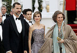 Prince Felipe, Princess Letizia of Asturias & Queen Sofia of Spain