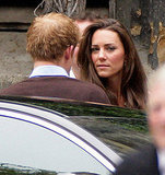 Kate Middleton and Prince Harry Stop by Westminster Abbey One Day Before Royal Wedding