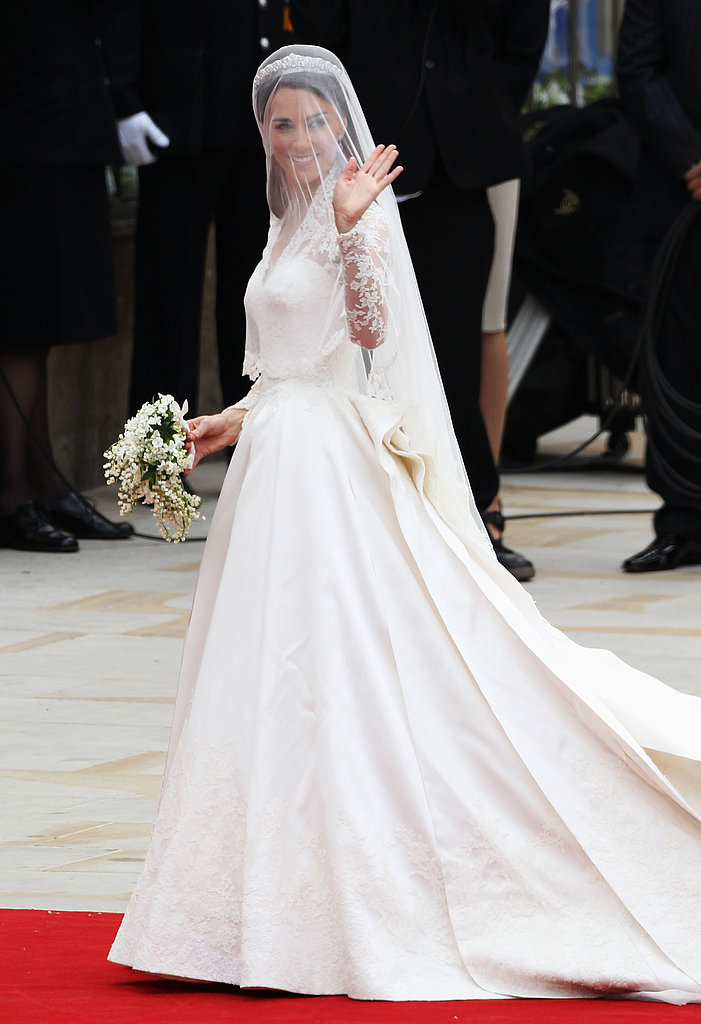See Close-Ups of Kate Middleton's Alexander McQueen Wedding Dress by Sarah Burton!