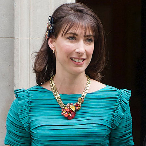 Samantha Cameron at the Royal Wedding in a Facsinator
