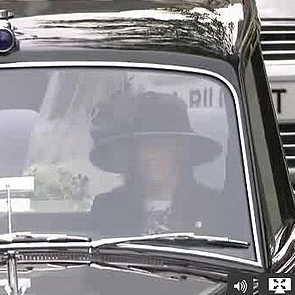 Kate Middleton Driving to Royal Wedding Video