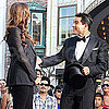 Guess Who Joined Mario Lopez on Stage at The Grove?