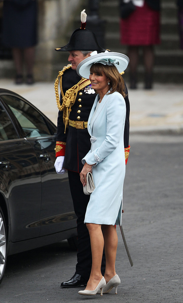 Kate Middleton's Mom, Carole, Arrives at the Royal Wedding