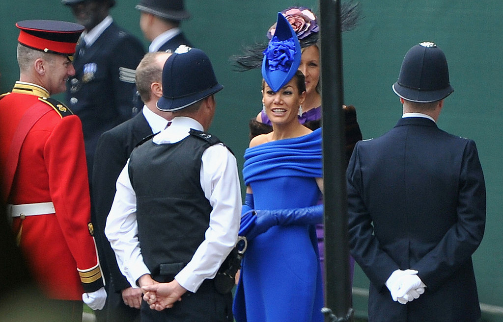 Tara Palmer-Tomkinson Arrives at the Royal Wedding!