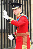 Prince William Looks Charming Arriving on His Wedding Day!