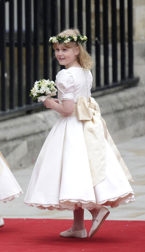 Lady Louise Windsor, Bridesmaid