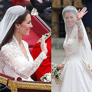 Pictures of Kate Middleton Waving at Royal Wedding