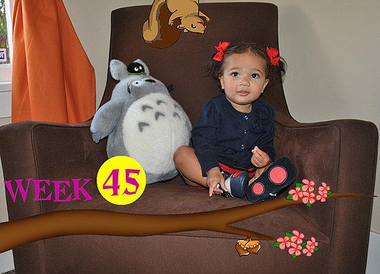 Olivia Lily 45 Weeks Old!!