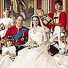 Prince William and Kate Middleton Official Wedding Portrait