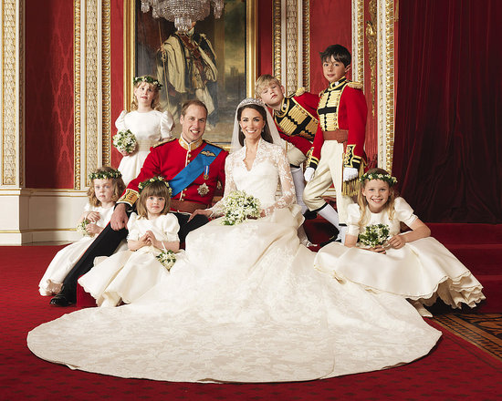 Prince William and Kate Release Their Gorgeous Wedding Portraits!