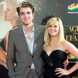 Robert Pattinson and Reese Witherspoon Pictures at the Barcelona Premiere of Water For Elephants
