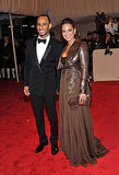Swizz Beatz and Alicia Keys in Givenchy couture