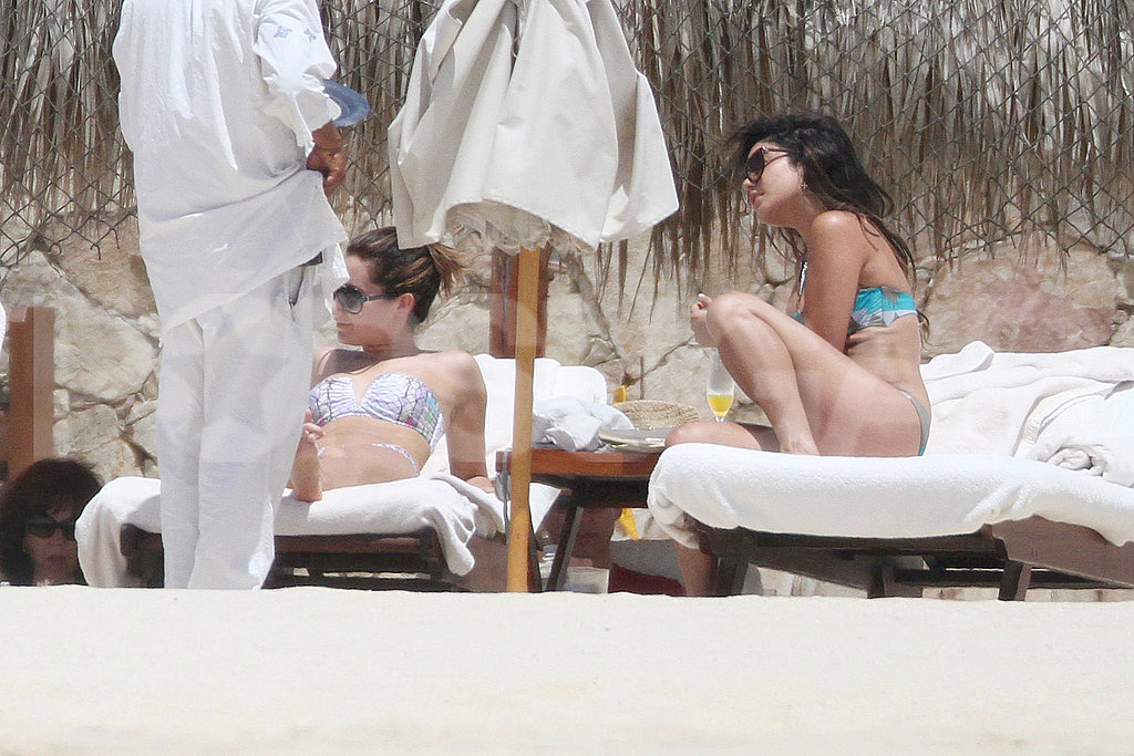 Vanessa Hudgens and Ashley Tisdale Hit Mexico in Bikinis!