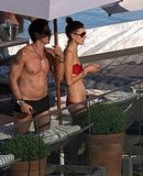 Alessandra Ambrosio Looks Red Hot in Her Tiny Bikini