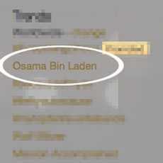 Osama Bin Laden Death on Twitter