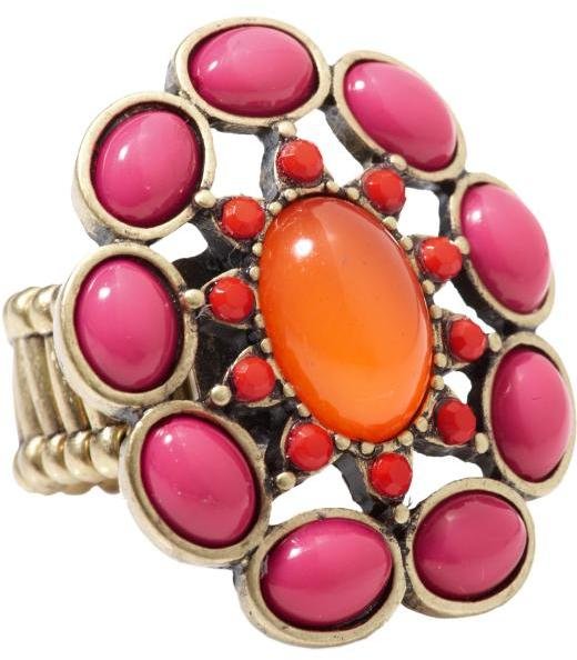 Gift your mom with this big, bold cocktail ring — the perfect statement piece. Old Navy Ethnic Cocktail Ring ($10)