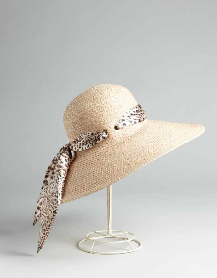 Your mother probably always warned you about staying out of the sun — surprise her with this superchic sun hat, just in time for beach weather. Lord & Taylor Physician Endorsed Incognito Raffia Sun Hat ($72)