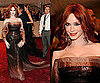 Christina Hendricks at the 2011 Met Gala in Carolina Herrera