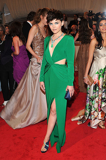 "Ginnifer Goodwin(2011 Met Gala...""Alexander McQueen: Savage Beauty"")"