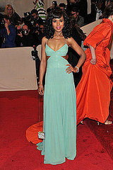"Kerry Washington(2011 Met Gala...""Alexander McQueen: Savage Beauty"")"