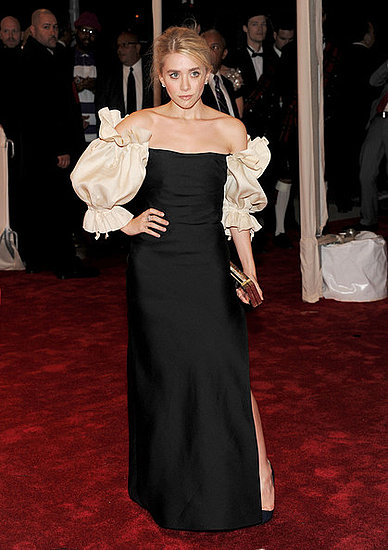 "Ashley Olsen(2011 Met Gala...""Alexander McQueen: Savage Beauty"")"
