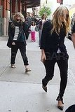 Mary-Kate and Ashley Go Casual Following Their Met Gala Outing