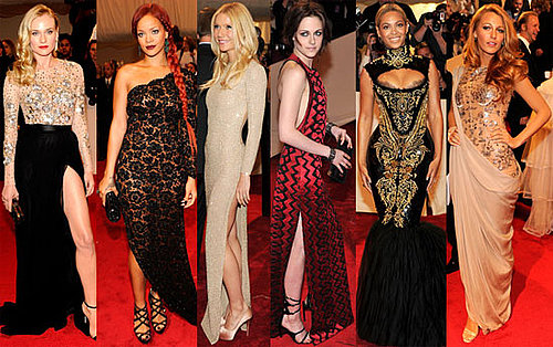 Sexy Ladies at Met Gala