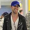 Pictures of Ryan Gosling Landing at JFK