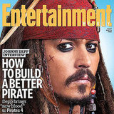Johnny Depp Entertainment Weekly Cover