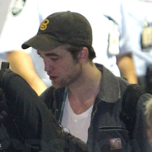 Robert Pattinson and Reese Witherspoon Pictures Landing in Sydney