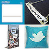 Twitter Necklaces, Pillows, Notepads