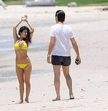Kim Kardashian Wears a Tiny Bikini on Vacation With Shirtless Kris Humphries!
